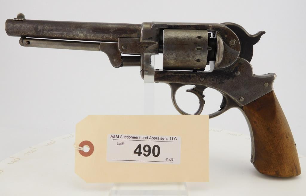 Lot #490 -Starr Arms 1858 DA Army Revolver