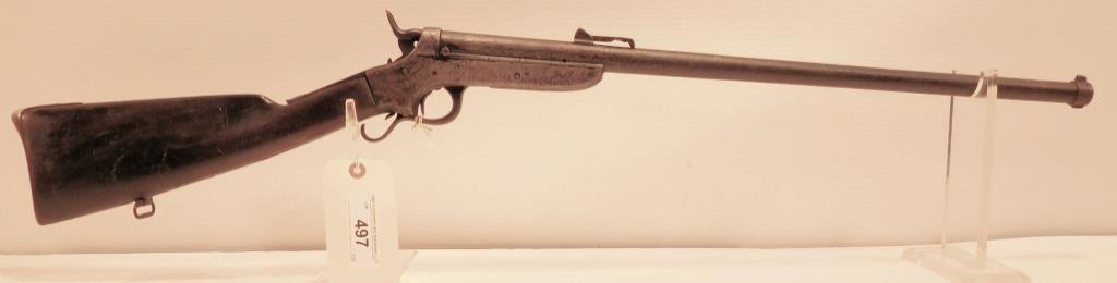 Lot #497 - Sharps & Hankins 1858 Navy Carbine