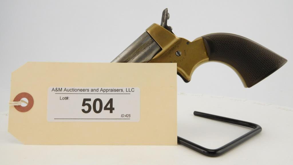 Lot #504 -Sharps4 Barrel Derringer