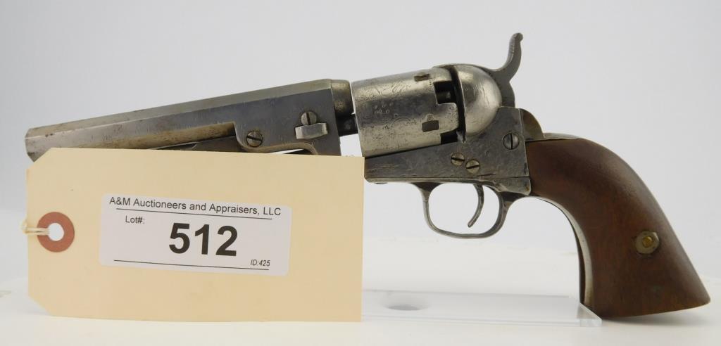 Lot #512 -Colt1849 Pocket Revolver, 2nd Type
