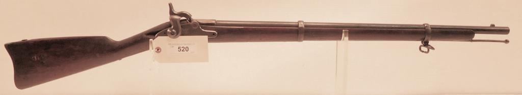 Lot #520 -SpringfieldTraining Rifle Dated 1864