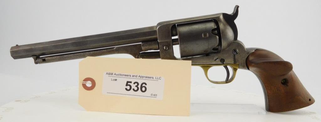 Lot #536 -E. Whitney Naval C.W. Revolver
