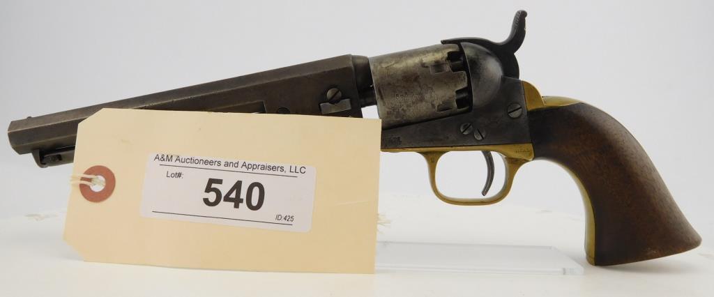 Lot #540 -Colt1849 Pocket, 1st Type Rev.