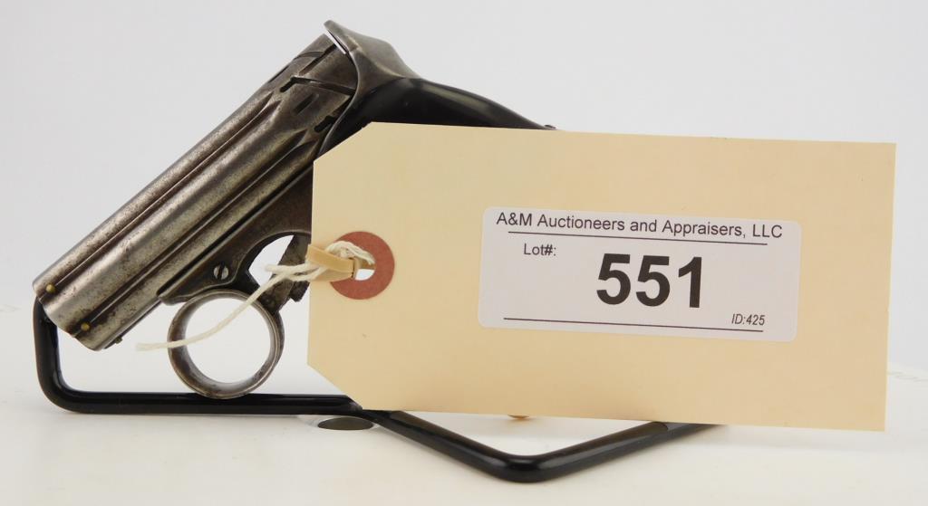 Lot #551 -Remington-ElliotZig-Zag Derringer