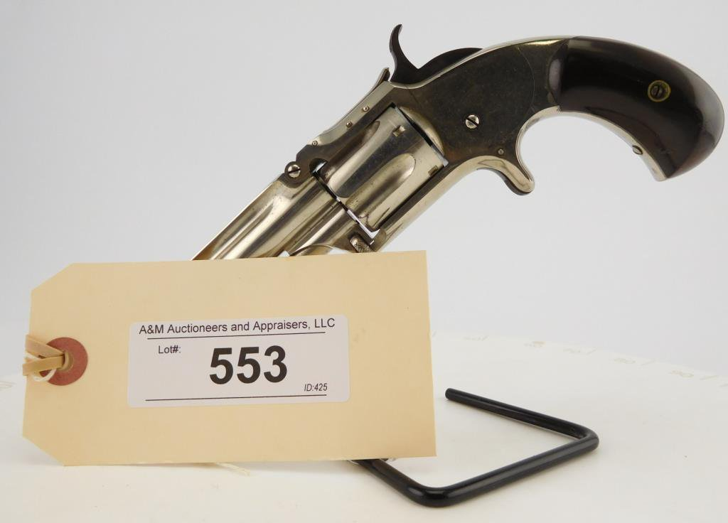 Lot #553 - S&W 1-1/2, 2nd Issue Revolver