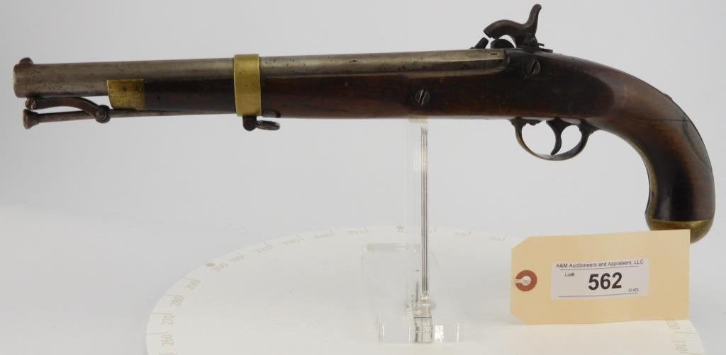 Lot #562 -US Springfield1855 Perc. Pistol Carbin