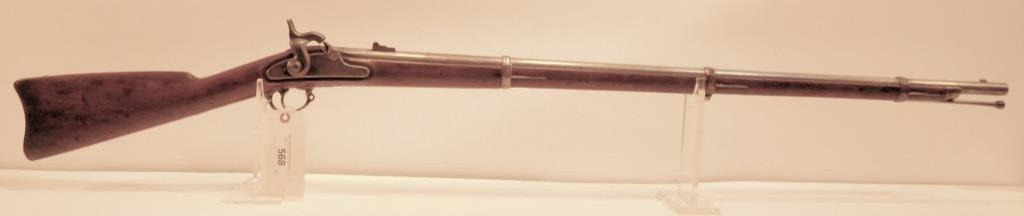 Lot #568 -US SpringfieldT1 Rifled Musket 1863