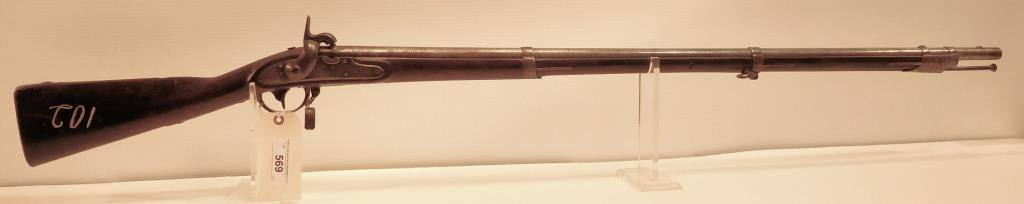 Lot #569 - US/Springfield Mdl 1816 Musket