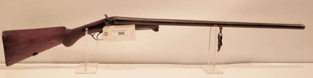 Lot #580 - W. Richards SxS Shotgun