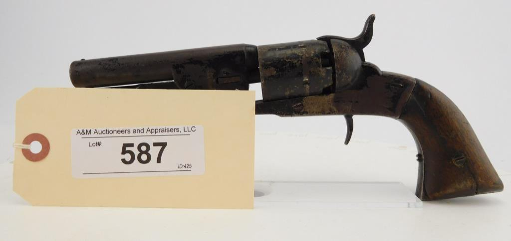Lot #587 - Hopkins & Allen  Pocket Revolver
