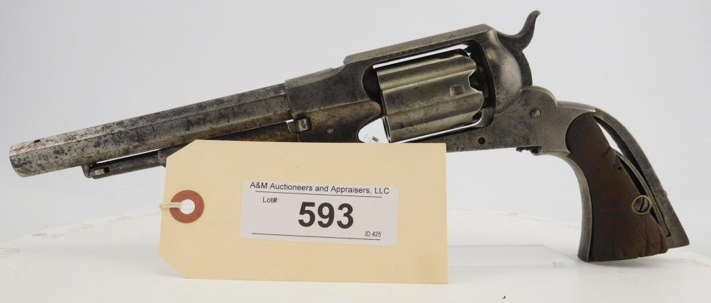 Lot #593 -Remington Rider DA Belt Revolver