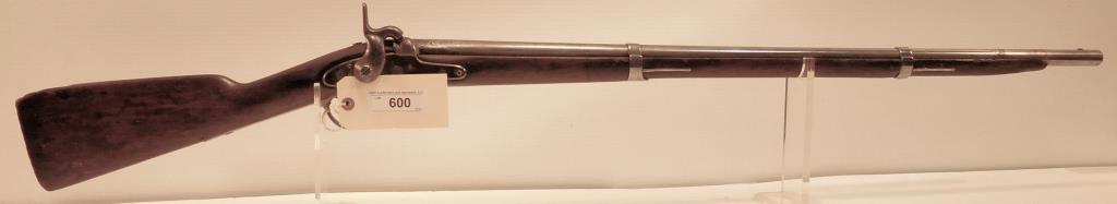 Lot #600 -US/SpringfieldMusket, Dated 1853