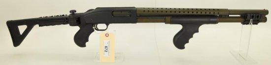 Lot #672 -Mossberg 500a Pump Shotgun