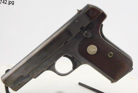 Lot #742 -Colt1908 S. Auto T4 Hammerless