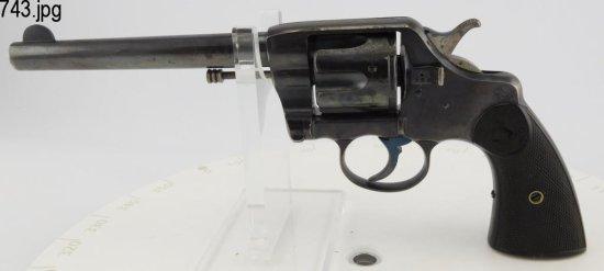 Lot #743 -Colt1892 Civilian DA Revolver
