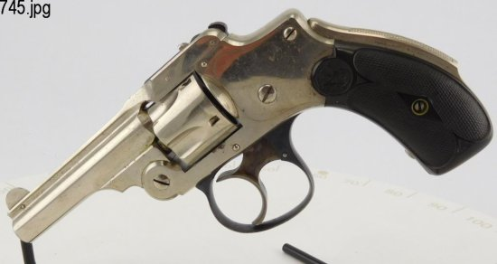 Lot #745 -S&W Safety Hammerless 1st