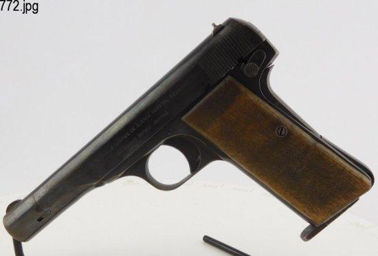 Lot #772 -Fabrique Nationale (1922) SA Pistol