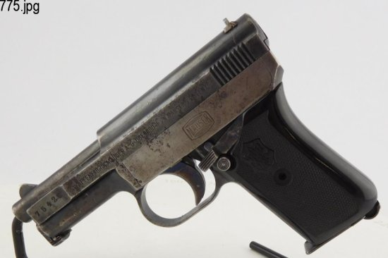 Lot #775 -Mauser Pocket Pistol  1910/14 SAP