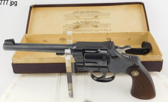 Lot #777 -Colt Officers Mdl Target 3rd Issue