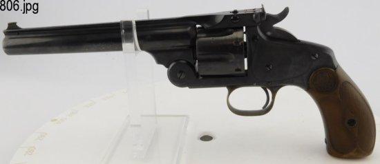 Lot #806 -S&W New Mdl 3 SA Revolver