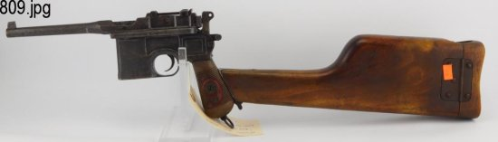 Lot #809 -Waffenfabrik Mauser M1916 Red 9