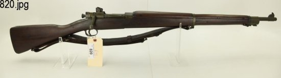 Lot #820 - US Springfield  1903-A3 BA Rifle