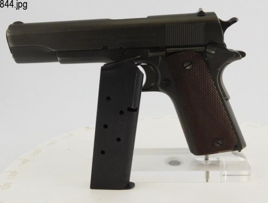 Lot #844 -Colt 1911 US Army SA Pistol