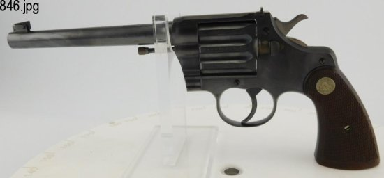 Lot #846 - Colt Camp Perry Target Pistol