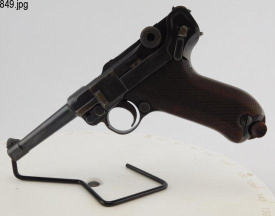 Lot #849 -Luger DWM 1906/1908 SA Pistol
