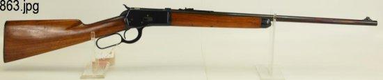 Lot #863 -Winchester 53 LA Rifle