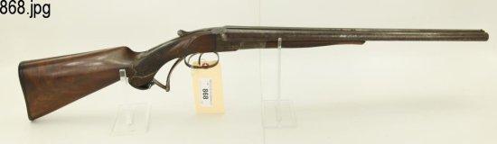 Lot #868 -Whitney Hammerless SxS Shotgun