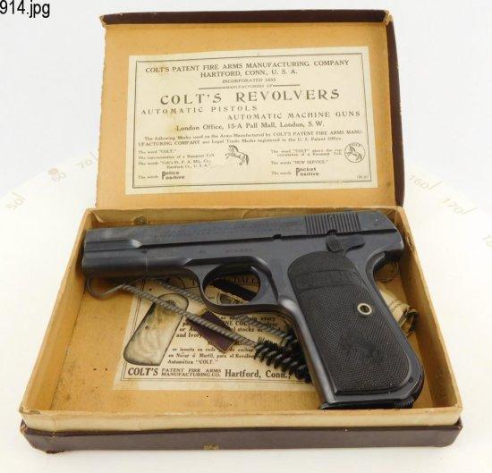 Lot #914 -Colt1903 Type 3, Mod M Pistol