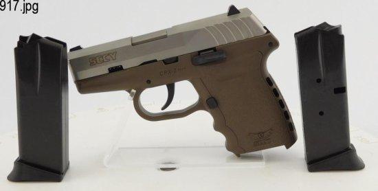 Lot #917 -SCCY Industries CPX2 SA Pistol (NIB)