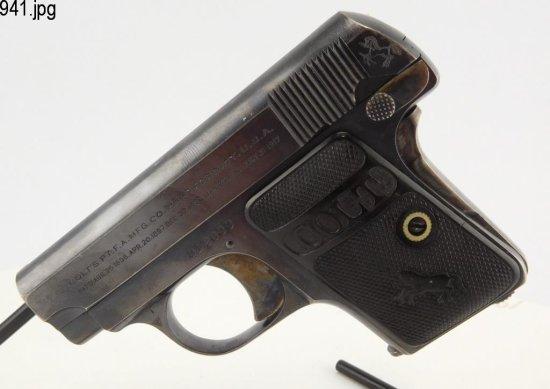 Lot #941 -Colt Vest Pocket 1908 Hammerless