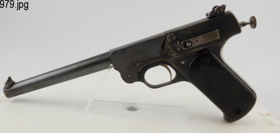 Lot #979 -J. Stevens No. 10 Target Pistol