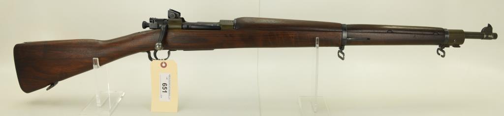 Lot #651 -US Remington1903-03 BA Rifle