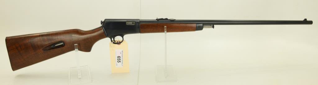 Lot #655 -Winchester 63 Semi Auto Rifle