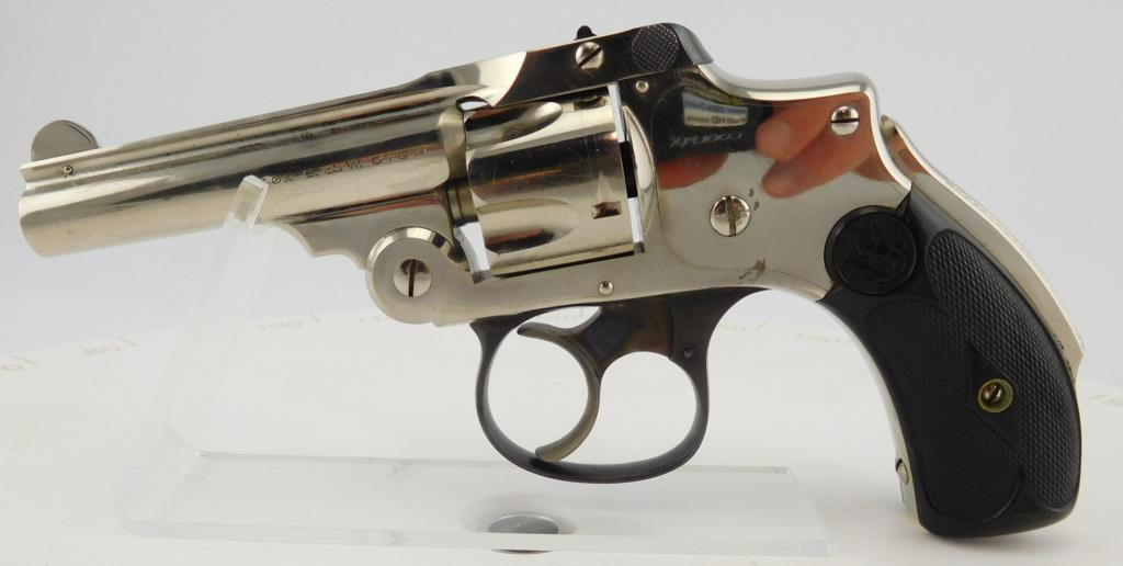 Lot #677 -S&WSafety Hammerless, 2nd Issue