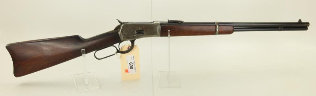 Lot #690 -Winchester 92 Lever Action Saddle Ring Carbine