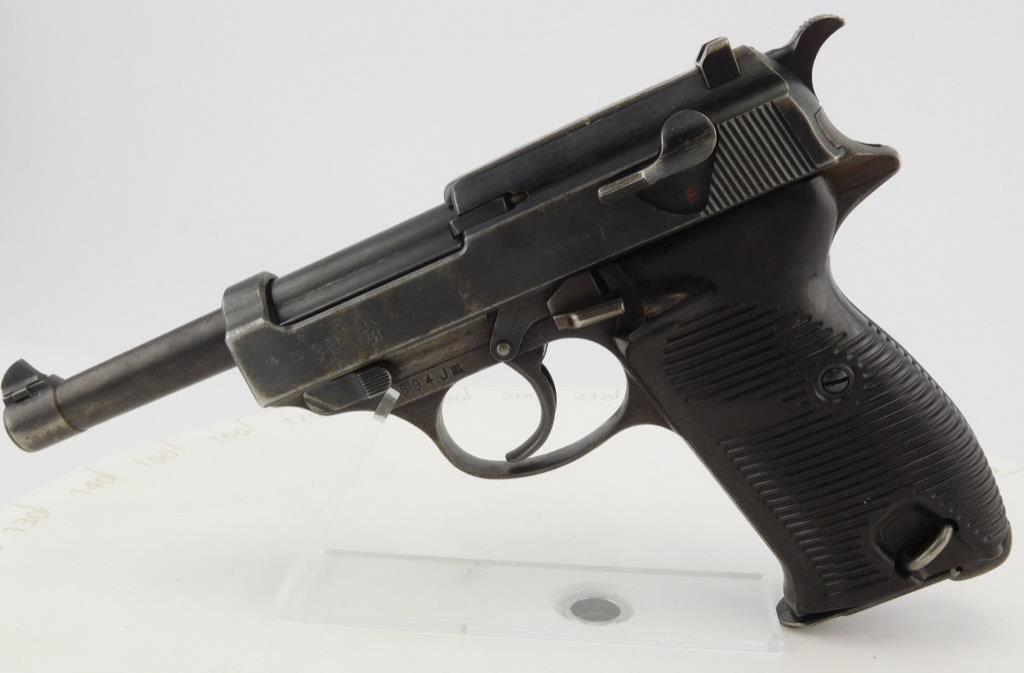 Lot #715 -Walther P38 Ac 41 SA Pistol 3rd Var
