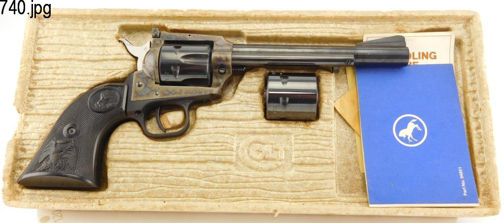 Lot #740 -Colt's Mfg Co New Frontier Rev