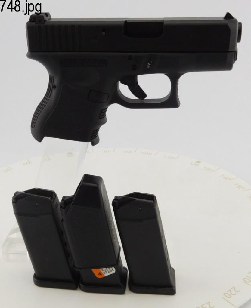 Lot #748 -Glock 27 Double Action Pistol