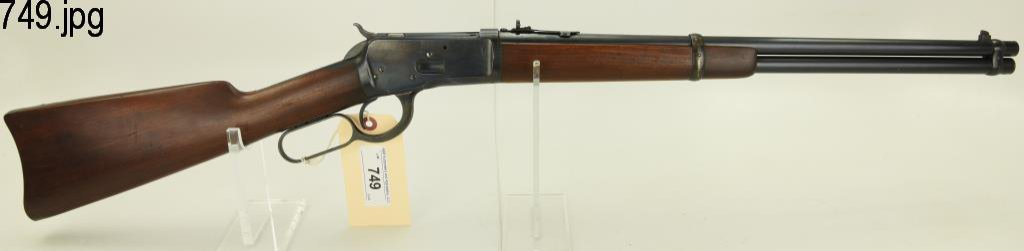 Lot #749 -Winchester 1892 LA Carbine Rifle