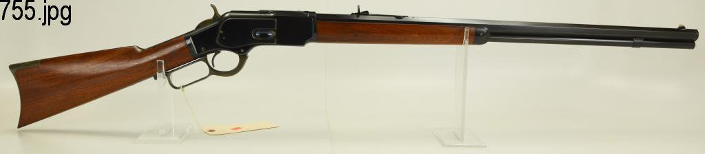 Lot #755 -Winchester 1873 3rd Mdl LA Rifle