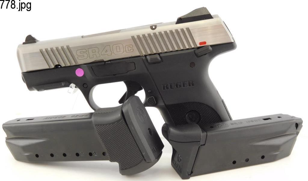 Lot #778 -Ruger SR-40C S. Auto Pistol