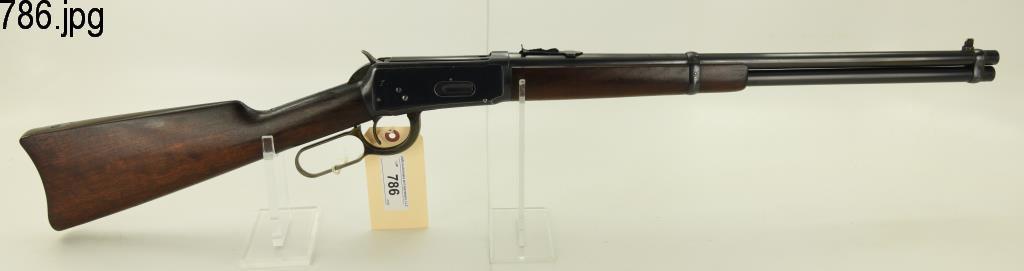 Lot #786 -Winchester 94 Saddle ring carbine LA Rifle