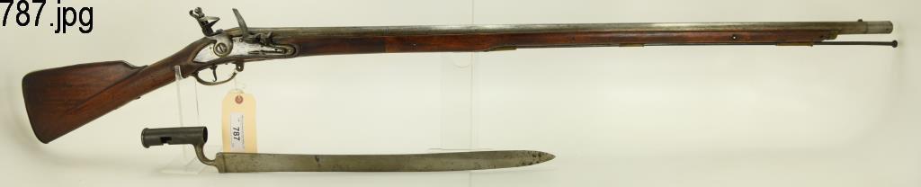 Lot #787 -Unk MakerHessian Grenadiers Musket