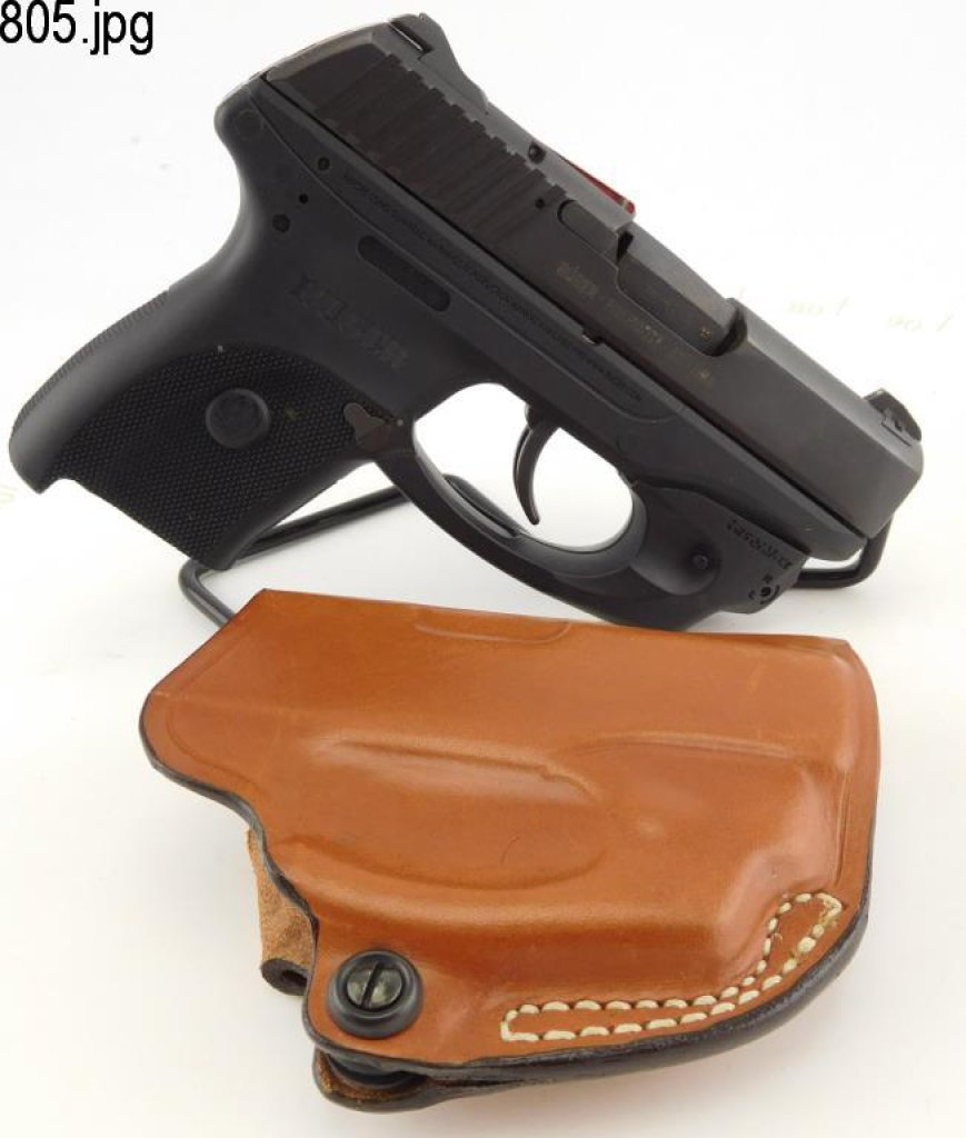 Lot #805 - Ruger LC9 SA Pistol w/Laser