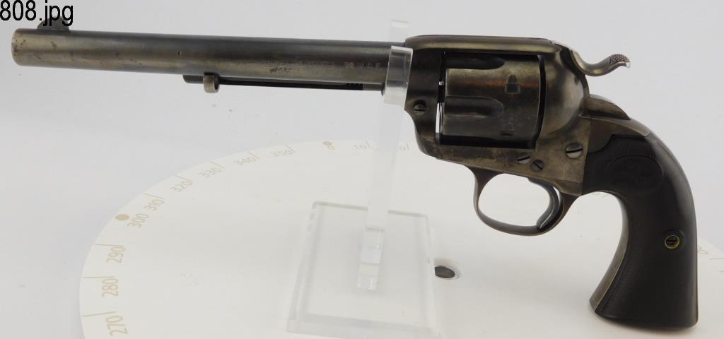 Lot #808 -Colt Bisley SA Revolver