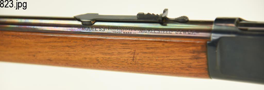 Lot #823 - Winchester Mdl 92 L Action Rifle